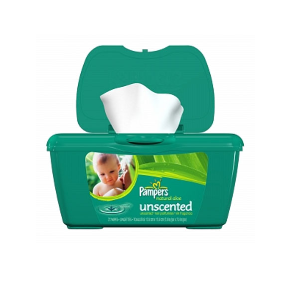 Wipes Baby Pampers Unscented